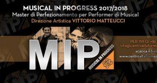Musical In Progress Bando 2017-2018. Direzione Vittorio Matteucci