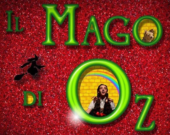 Bando Mago di Oz nuova produzione Children's Musical School tag