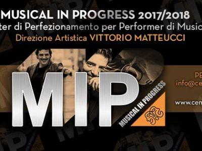 Open Day Musical in Progress 2017- programma della giornata