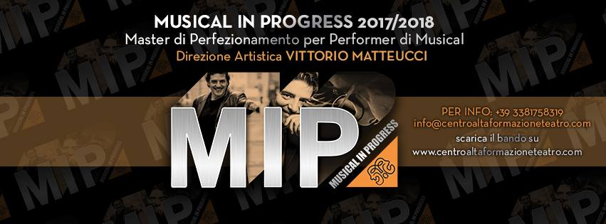 Open Day Musical in Progress 2017- programma della giornata