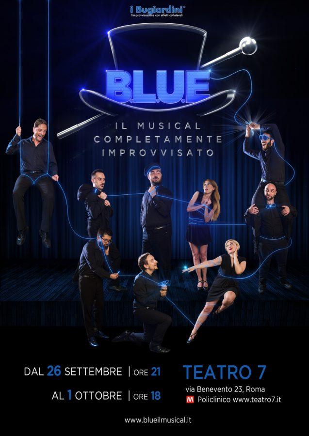 B.L.U.E Il Musical completamente improvvisato i Bugiardin-2