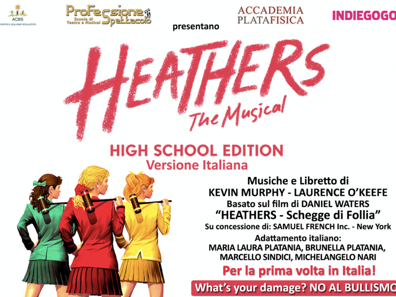 Locandina HEATHERS The Musical - tag
