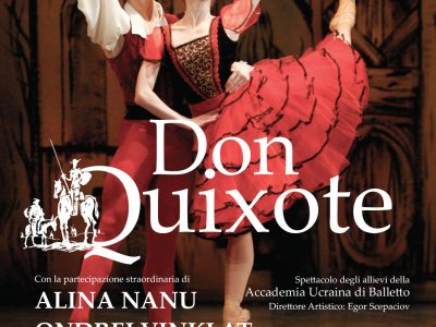 Al Teatro Arcimboldi aperte prevendite di Don Quixote con Accademia Ucraina