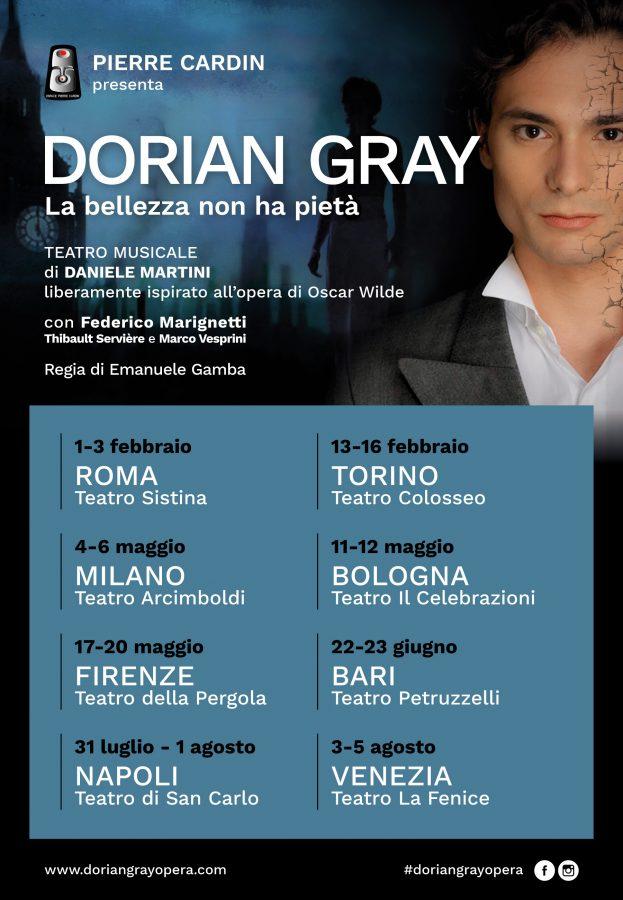 Dorian Gray. La bellezza 2018 - locandina