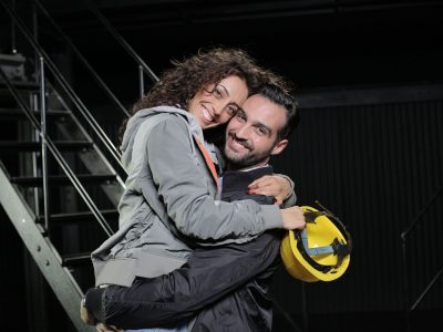 Flashdance al Teatro Nazionale-Valeria Belleudi e Lorenzo Tognocchi