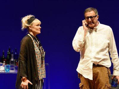 Recensione l' ANATRA ALL'ARANCIA Chiara Noschese e Luca Barbareschi