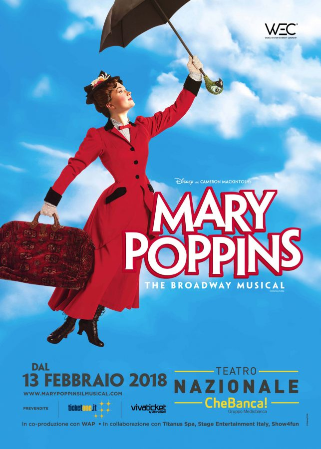 Repliche musical Mary Poppins a Milano-disponibili biglietti altre date