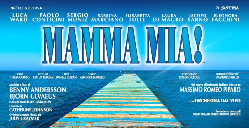 date tour 2018 Mamma Mia musical