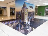 Aspettando Mary Poppins il musical ecco l'installazione effetto 3D a Milano