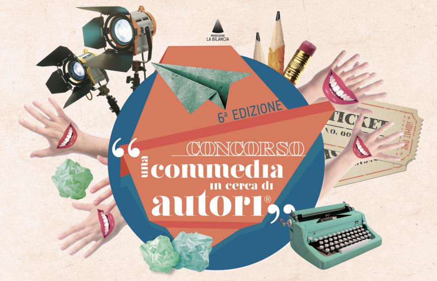 Bando Una commedia in cerca di autori sesta edizione 2018 - come partecipare