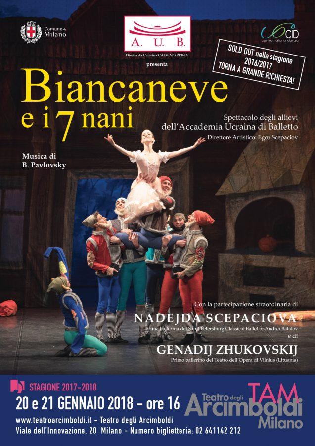 Biancaneve e i sette nani dell'Accademia Ucraina di Balletto