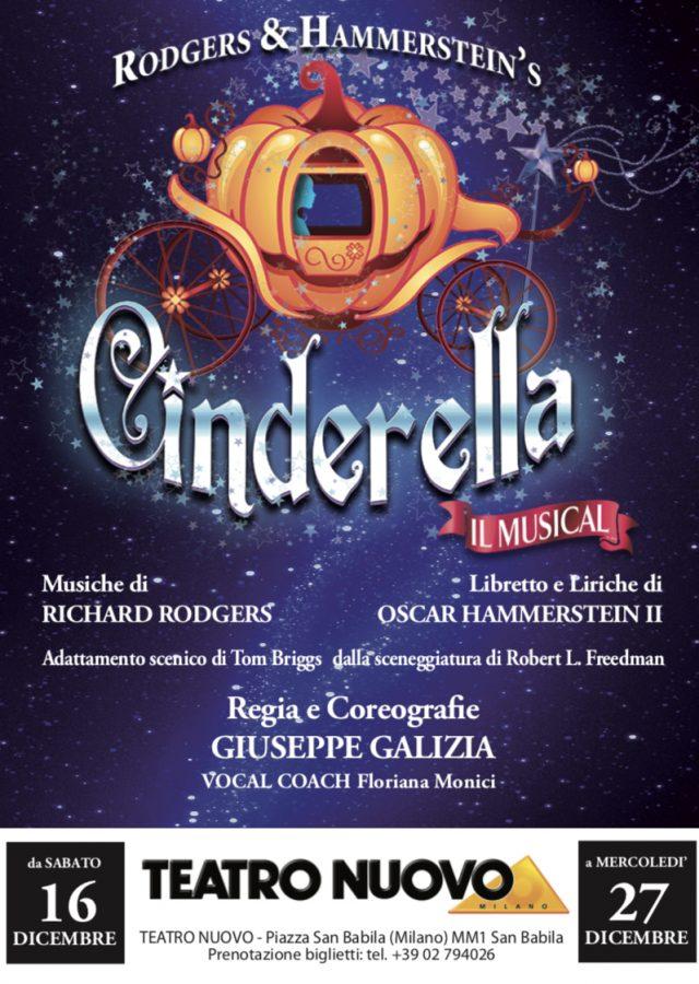 Cinderella il Musical - La fiaba delle fiabe al Teatro Nuovo di Milano dal 16 dicembre