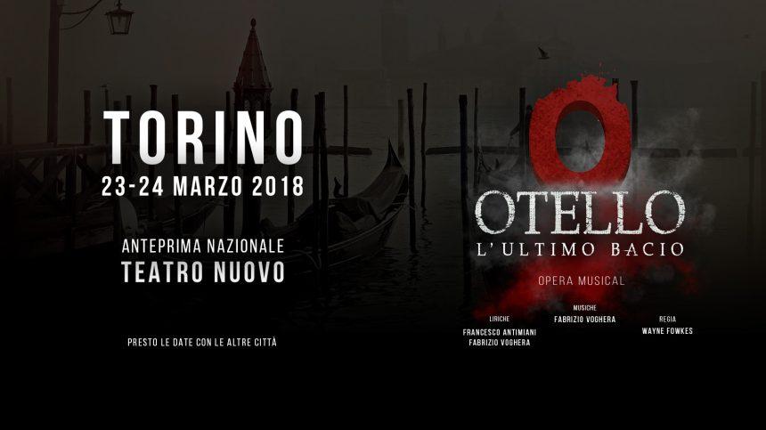 Cast di Otello L'ultimo bacio. Anteprime a Torino