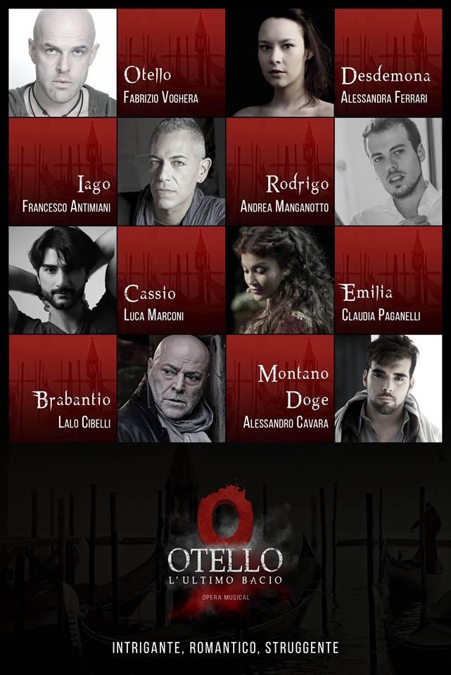 Cast di Otello L'ultimo bacio. Anteprime a Torino_2