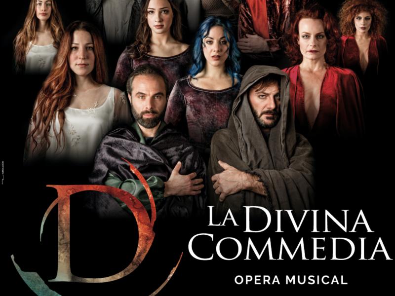 Divina Commedia opera musical al Teatro Ciak Milano