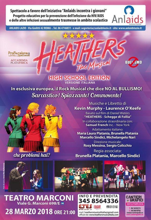 Teatro Marconi di Roma Heathers