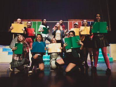 Teatro Marconi di Roma Heathers foto gruppo