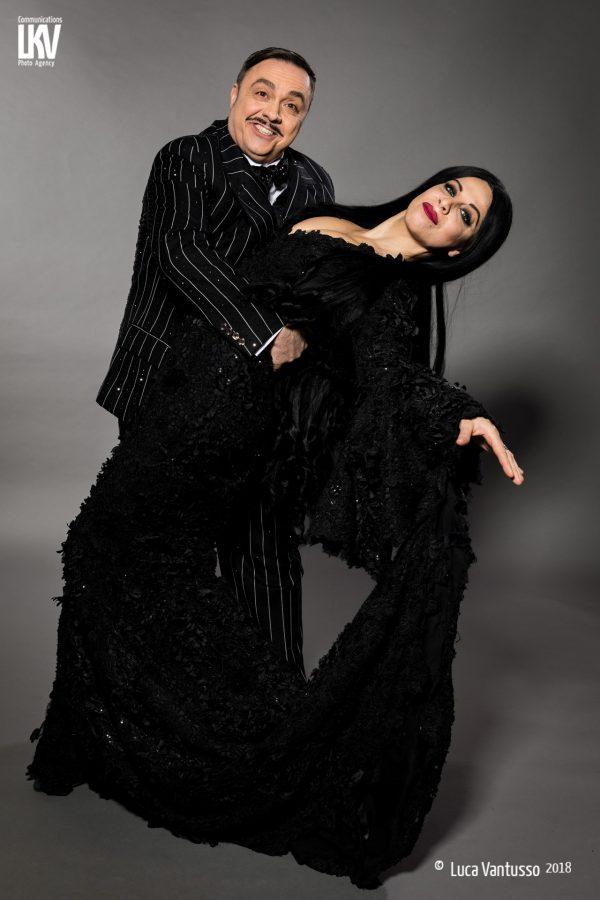 Teatro Nuovo La Famiglia Addams - Morticia e Gomez 1