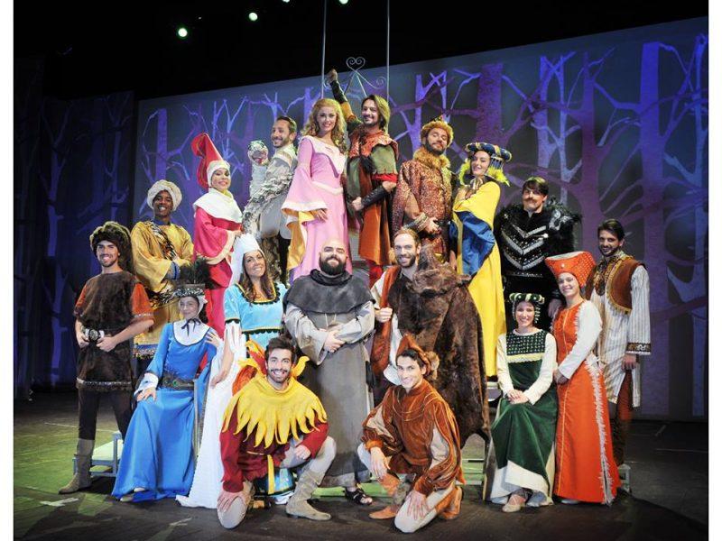 Ad aprile 2018 Robin Hood al Teatro Nuovo di Milano con Manuel Frattini