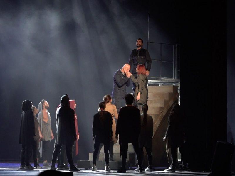Al Teatro Ciak Milano Otello l'ultimo bacio Opera Musical -3