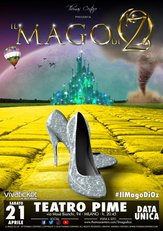 Teatro Pime Il Mago Di Oz - Thomas Centaro-loc