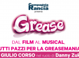 Giulio Corso in Grease - tour estivo 2018