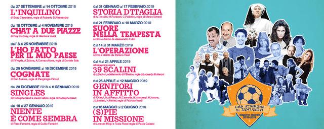 Stagione 2018/2019 Teatro Martinitt di Milano
