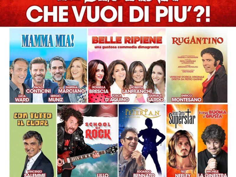 Stagione 2018/2019 Teatro Sistina di Roma