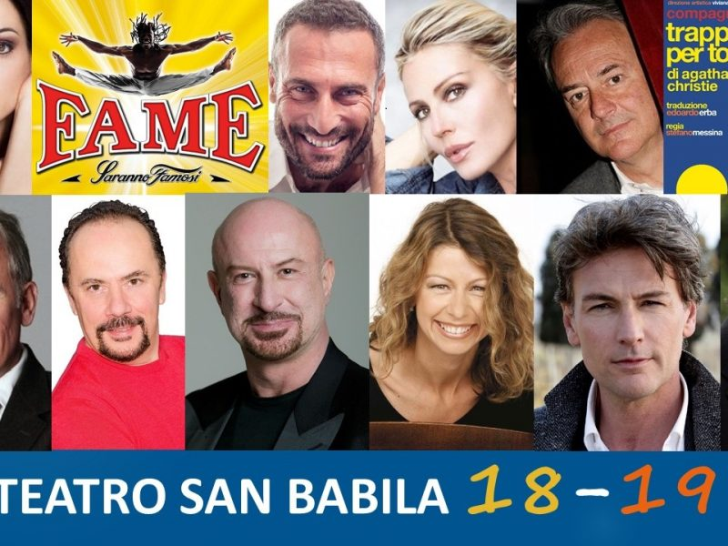 Stagione Teatro San Babila 2018:2019