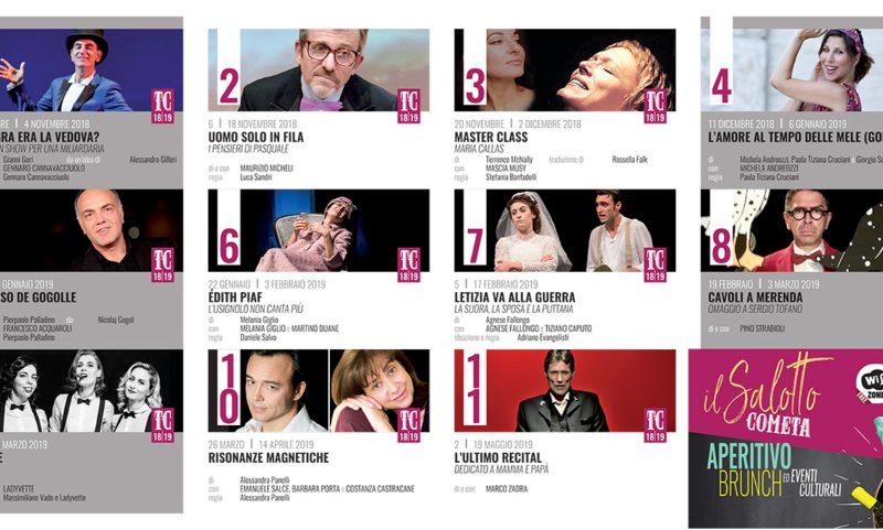 Stagione 2018/2019 Teatro della Cometa