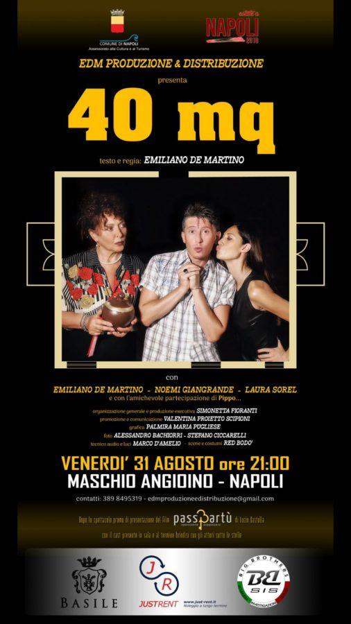 40 mq - regia di Emiliano De Martino-locandina