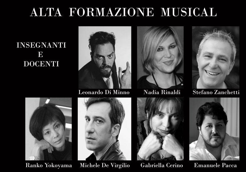 Nasce Alta Formazione Musical a Foggia-docenti insegnanti