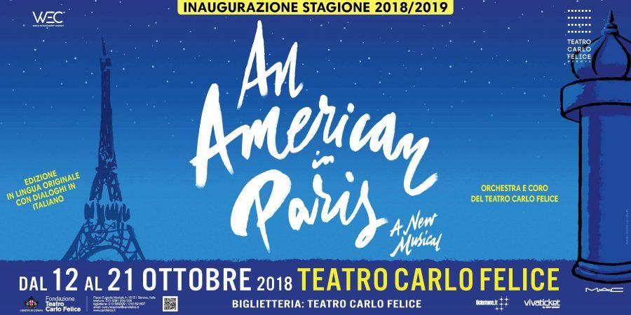 An American in Paris il musical debutta a Genova. Regia Federico Bellone