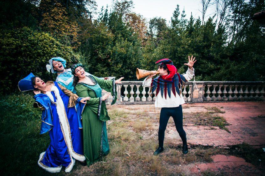 Muffins presentano La principessa sul pisello il musical