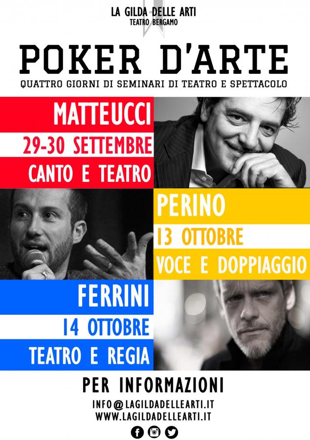 seminari culturali - La Gilda delle Arti – Teatro Bergamo