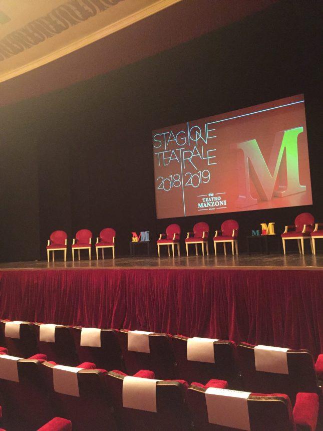 stagione 2018-2019 del Teatro Manzoni Milano