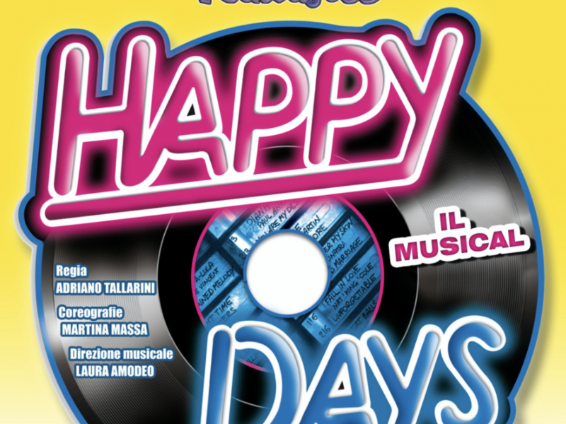 Happy Days il musical Saltafoss_tag