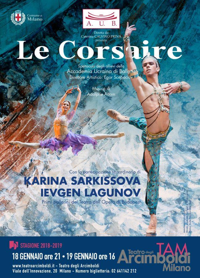 L' Accademia Ucraina di Balletto-Le Corsaire