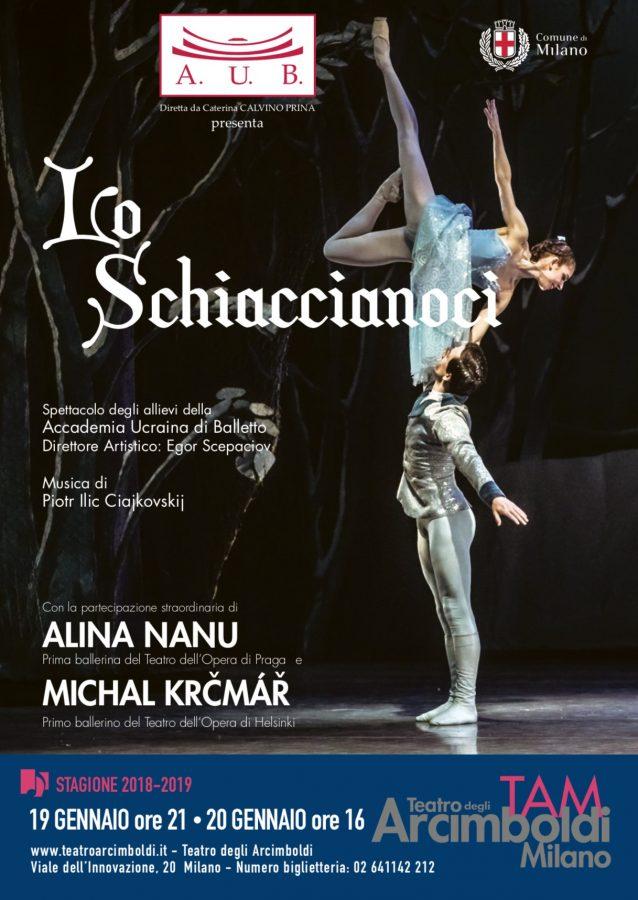 L' Accademia Ucraina di Balletto al Teatro Arcimboldi - Lo shiaccianoci