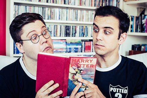 Teatro Leonardo arriva Potted Potter - Davide Nebbia e Mario Finulli