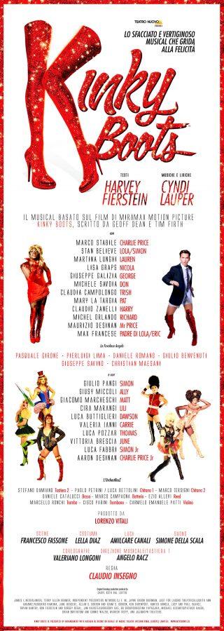 Locandina Teatro Nuovo di Milano Kinky Boots