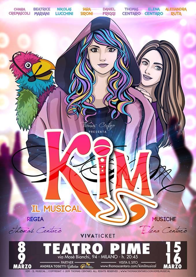 Teatro Pime Kim - Locandina