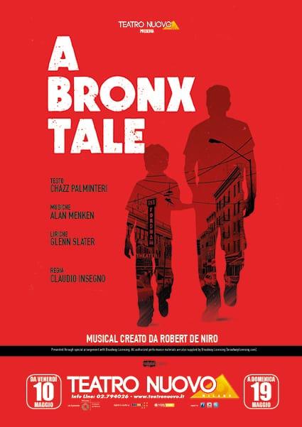 Locandina Teatro Nuovo di Milano presenta A Bronx Tale Musical