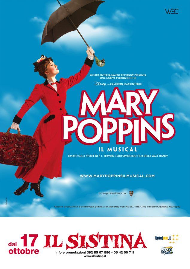 Mary Poppins musical in scena a Roma al Teatro Sistina da ottobre 2019 loc