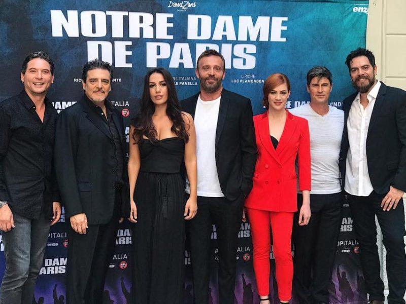 Cast 2019-2020 di Notre Dame De Paris