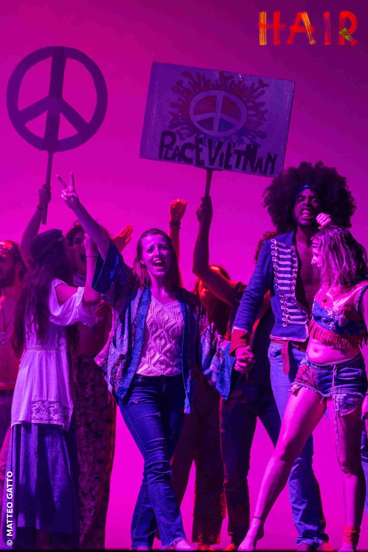 Hair il musical di MTS Entertainment in scena a Milano  -
