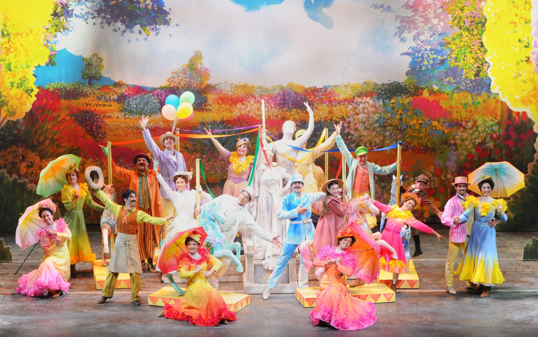 Ecco il cast di Mary Poppins musical 2019 - 2020 in scena a Roma e Milano