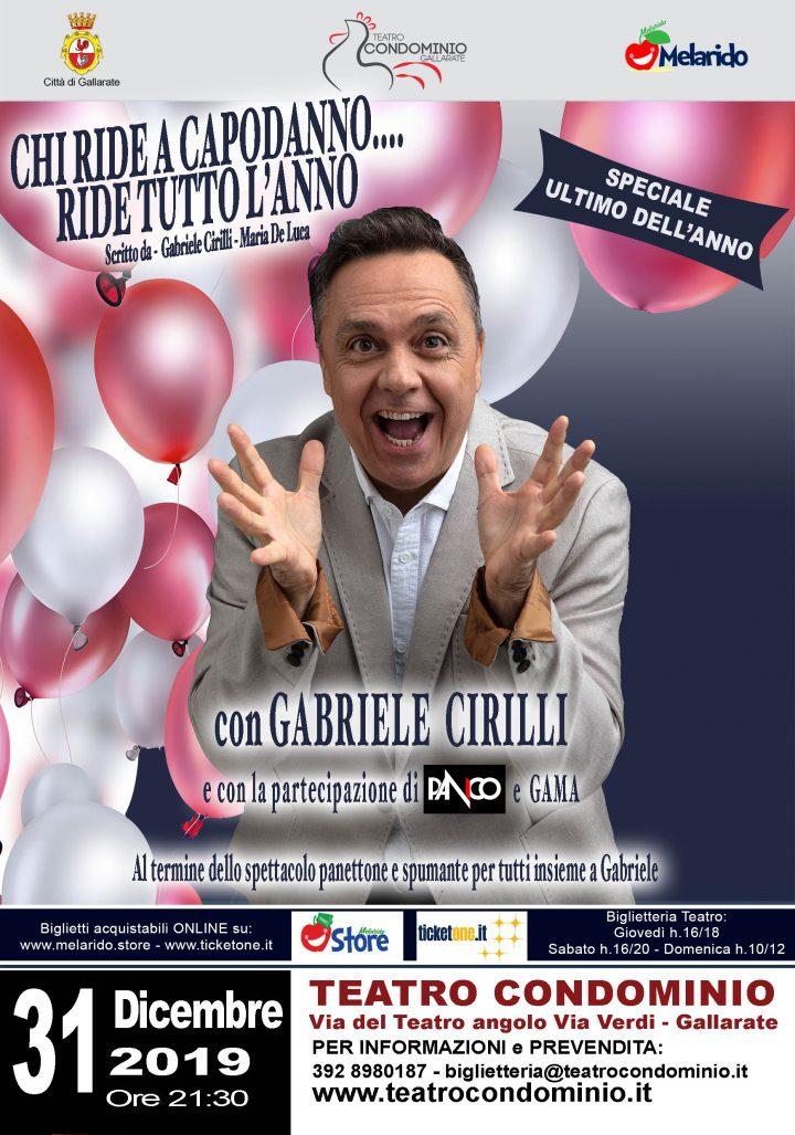 Capodanno 2020 con Gabriele Cirilli