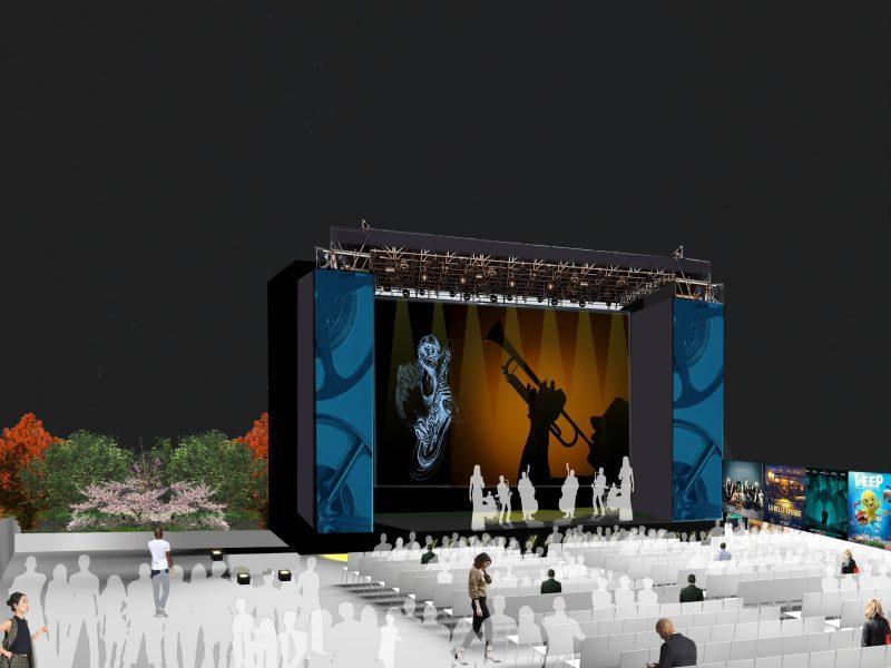 la nuova Arena Milano Est 2020 - programma luglio